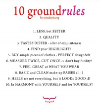 10 ground rules