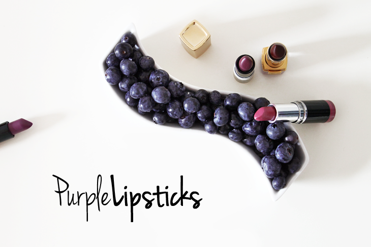 Favourites: Purple Lipsticks!