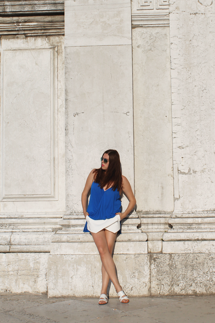 Blue & White in Venice