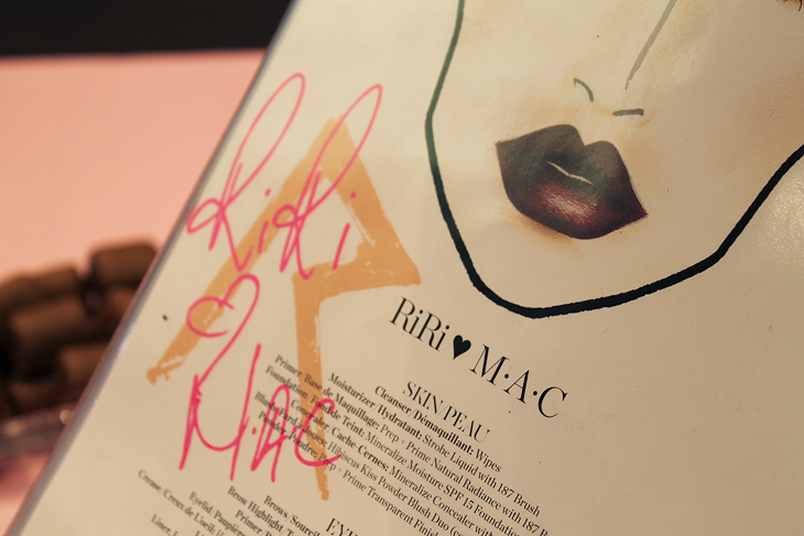 RiRi hearts MAC fall