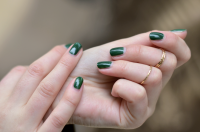 Nail it! / go green for fall