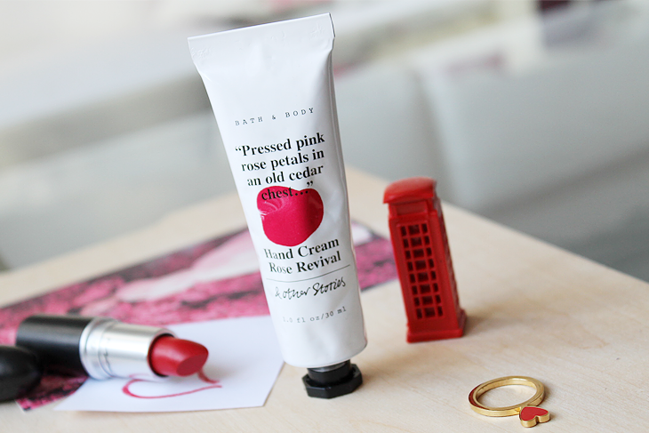 currently love / #valentinesday  & Other Stories Rose Revival Hand Cream