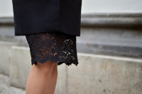 a fashion minute / lace